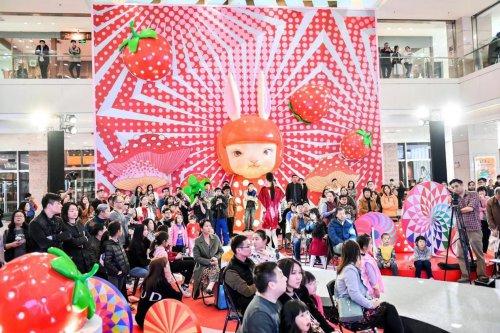 佛山保利MALL时尚之夜:波普·时尚的艺术视觉盛宴