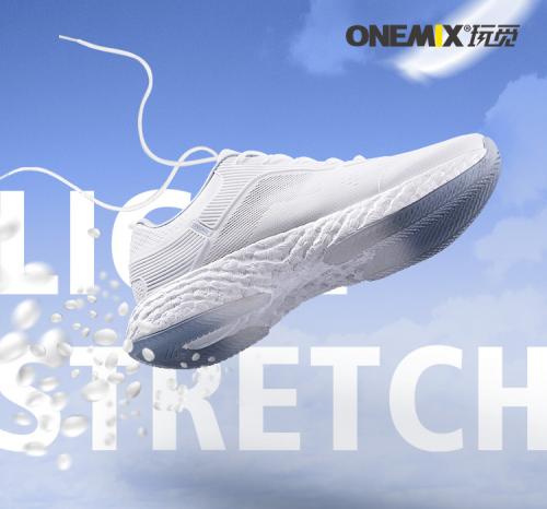 """ONEMIX玩觅运动鞋""""更懂用户需求""""每一步都舒适"""