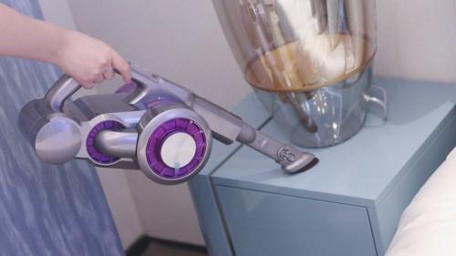 灰尘毛发剪不断理还乱?吉米上手把吸尘器强劲大吸力清洁更彻底
