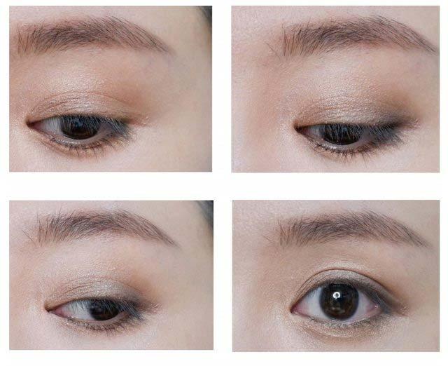 heme六色眼影盘夜绿2种眼妆画法分享